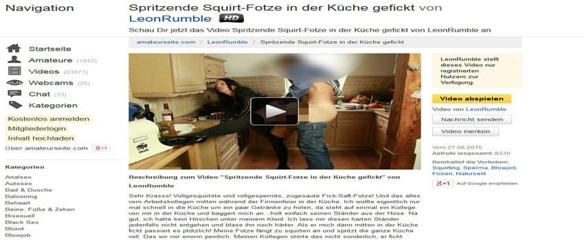 Squirting Sexkontakte